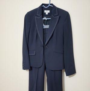 Ann Taylor Loft Navy pant suit